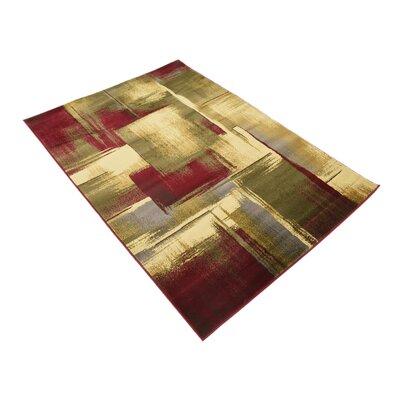 Jaidan Brown/Beige Area Rug Rug Size: Rectangle 4 x 6