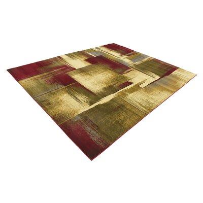 Jaidan Brown/Beige Area Rug Rug Size: Rectangle 8 x 10