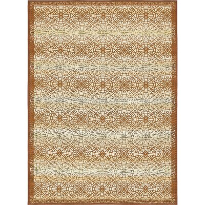 Jamie Beige Indoor/Outdoor Area Rug Rug Size: Rectangle 53 x 8