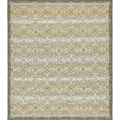 Jamie Traditional Beige Indoor/Outdoor Area Rug Rug Size: Round 8'