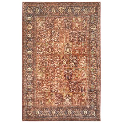 Rosana Red Area Rug Rug Size: Runner 111 x 74