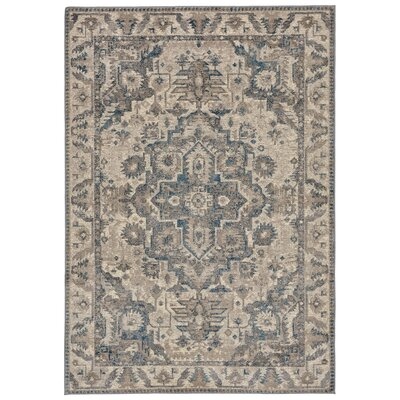 Rosanne Beige/Brown Area Rug Rug Size: Runner 18 x 73
