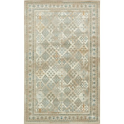 Hurst Beige Area Rug Rug Size: Rectangle 7 x 10