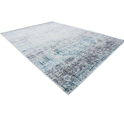 Jayleen Blue Tibetan Area Rug Rug Size: Rectangle 102 x 135
