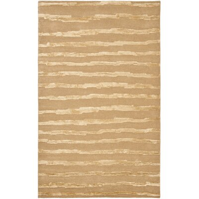 Dorthy Hand-Tufted Beige Area Rug Rug Size: Rectangle 5 x 8