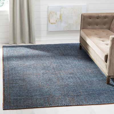 Merriam Hand Tufted Wool Blue Area Rug Rug Size: Rectangle 8 x 10