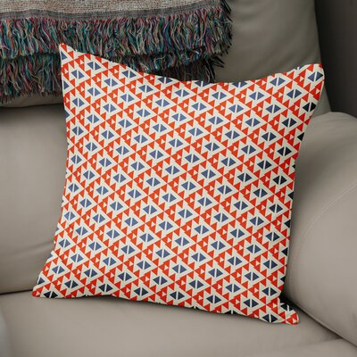 Denning Accent Throw Pillow Size: 18 x 18