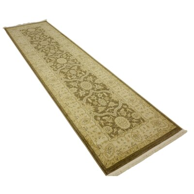Britley Brown Area Rug Rug Size: Runner 27 x 10
