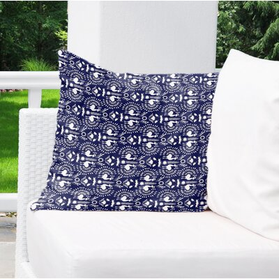 Deidra Indoor/Outdoor Throw Pillow Size: 18 x 18