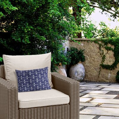 Deidra Outdoor Lumbar Pillow