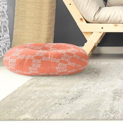 Edlin Tangerine Outdoor Floor Pillow Size: 26 x 26