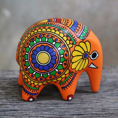 Bouffard Om Elephant Figurine C97CF03724DA4CC89B70402CFBC58D1F