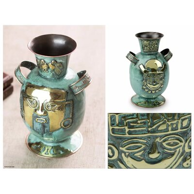 Campas Empire of the Inca Table Vase 4FB6EEDBB91646739AA496587AD320FA