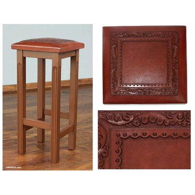 Potterville Cedar Empress 28.5 Bar Stool