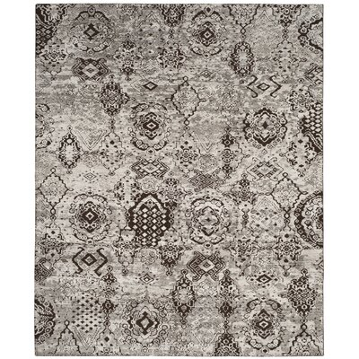 Merriam Hand Tufted Gray Area Rug Rug Size: Rectangle 8 x 10