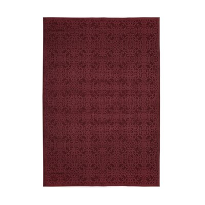 Ancelina Red Area Rug Rug Size: 710 x 112