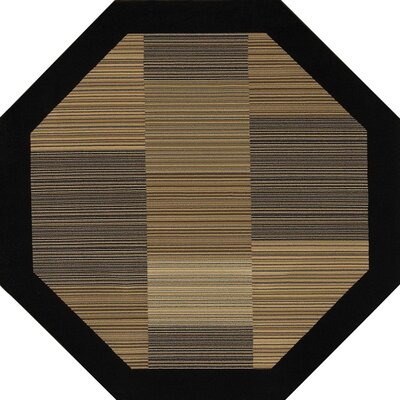Judlaph Yellow/Gray Area Rug Rug Size: Octagon 53