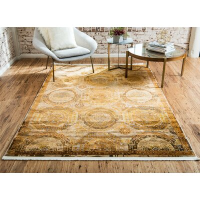 San Marcos Brown Area Rug Rug Size: Runner 27 x 10