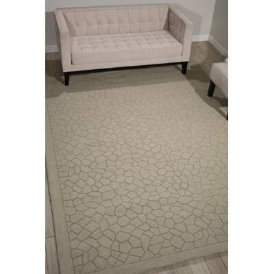 Downridge Hand-Tufted Light Green Area Rug