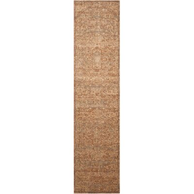 Dringenberg Chocolate Area Rug Rug Size: Runner 25 x 10