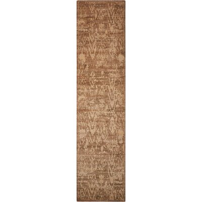 Dringenberg Traditional Chocolate Area Rug Rug Size: Runner 25 x 10
