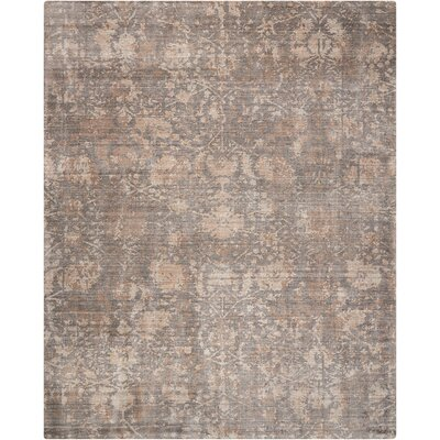 Culbreth Hand-Knotted Flint Area Rug Rug Size: Rectangle�79 x 99