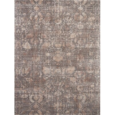 Culbreth Hand-Knotted Flint Area Rug Rug Size: Rectangle�86 x 116