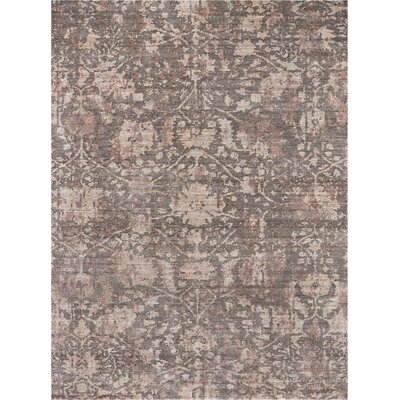 Culbreth Hand-Knotted Flint Area Rug Rug Size: Rectangle�56 x 76
