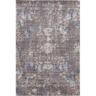 Culbreth Hand-Knotted Dove Area Rug Rug Size: Rectangle�39 x 59