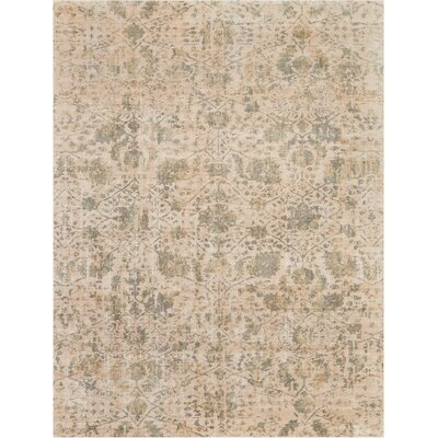 Culbreth Hand-Knotted Pearl Area Rug Rug Size: Rectangle�99 x 139