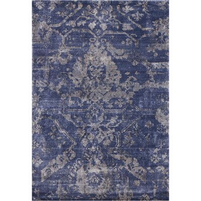 Culbreth Hand-Knotted Dusk Area Rug Rug Size: Rectangle�39 x 59