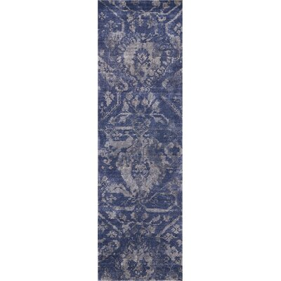 Culbreth Hand-Knotted Dusk Area Rug Rug Size: Runner 23 x 8