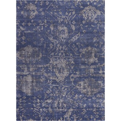 Culbreth Hand-Knotted Dusk Area Rug Rug Size: Rectangle�99 x 139