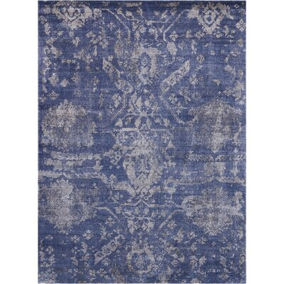 Culbreth Hand-Knotted Dusk Area Rug Rug Size: Rectangle�56 x 76
