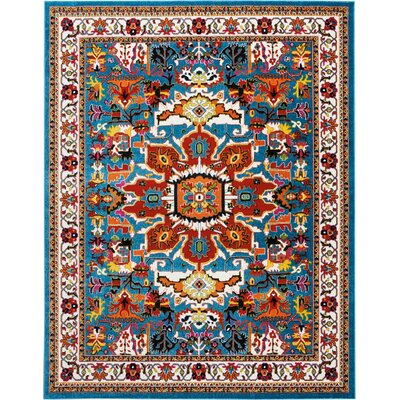 Cullens Blue Area Rug Rug Size: Rectangle�710 x 10
