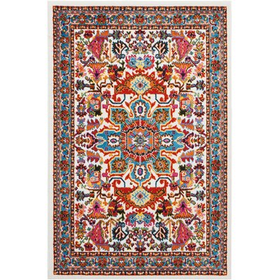 Cullens Ivory Area Rug Rug Size: Rectangle�4 x 6