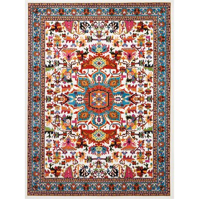 Cullens Ivory Area Rug Rug Size: Rectangle�92 x 12