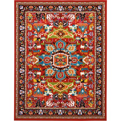 Cullens Red Area Rug Rug Size: Rectangle�710 x 10