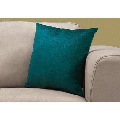Tarsha Throw Pillow Color: Green
