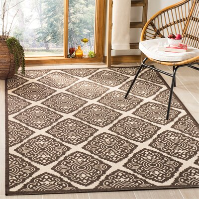 Mckinley Brown Area Rug Rug Size: Rectangle 4 x 6