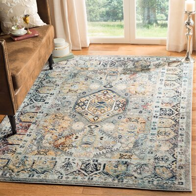 Mcintosh Gray Area Rug� Rug Size: Runner 23 X 12