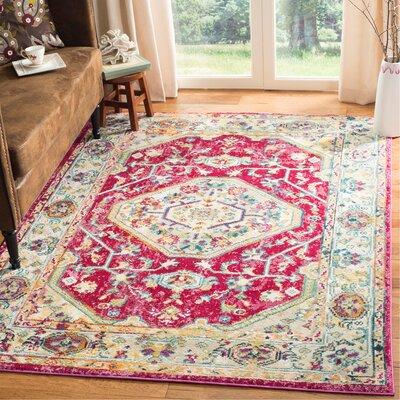 Mcintosh Violet Area Rug� Rug Size: Rectangle 3 x 5