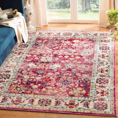 Mcintosh Violet Area Rug� Rug Size: Rectangle 3' x 5'