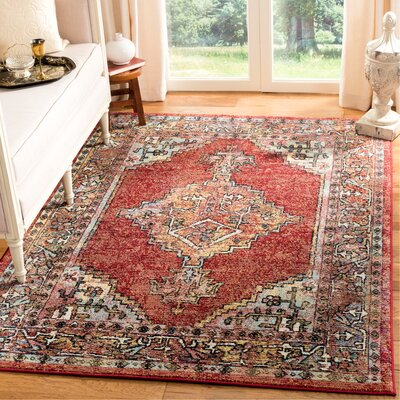 Mcintosh Red Area Rug� Rug Size: Rectangle 8 x 10