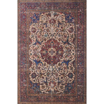 Raul Sand Area Rug� Rug Size: Rectangle 76 x 96