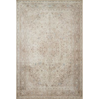Raul Sand/Taupe Area Rug� Rug Size: Rectangle 76 x 96