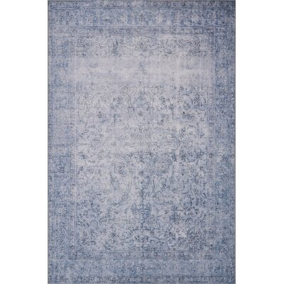 Rakesh Slate Area Rug� Rug Size: Rectangle 84 x 116