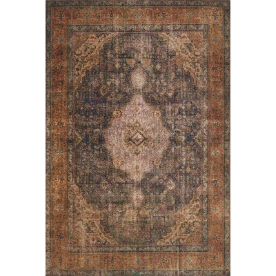 Raul Plum Area Rug� Rug Size: Rectangle 36 x 56