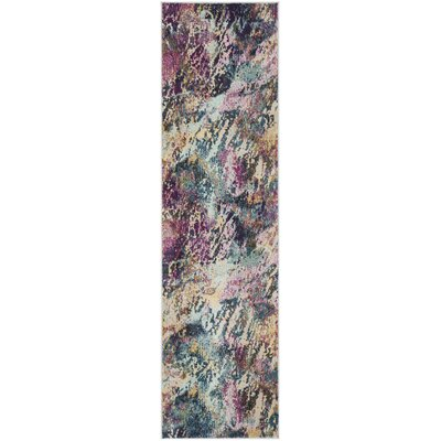 Mcintosh Contemporary Blue/Purple Area Rug� Rug Size: Runner 23 x 8