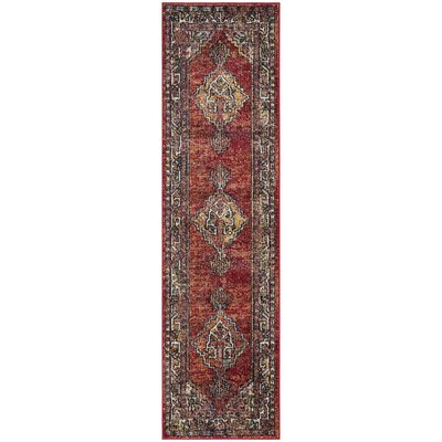 Mcintosh Red Area Rug� Rug Size: Runner 23 x 8